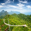 Langkawi Sky Bridge in Malaysia — Stock Photo #36013679
