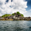 Rocky island in Andaman sea — Stock Photo