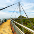 Langkawi Sky Bridge in Malaysia — Stock Photo