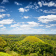 Chocolate hills on Bohol Island, Philippines — Stock Photo #36013755