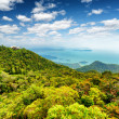Tropical landscape. Mountains and sea — Stock Photo #39432125