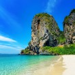 Stock Photo: Clear water and blue sky. PhrNang beach, Thailand