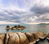 Beautiful tropical landscape. Samui Island, Thailand — Photo