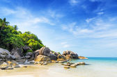 Beautiful tropical landscape. Samui Island, Thailand — Stock Photo