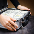 Stock Photo: Storage and protection of cash and valuable items