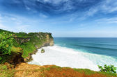 Costa a uluwatu temple, bali, indonesia — Foto Stock