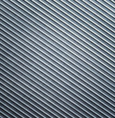 Metallic background. Striped aluminium texture — Stock Photo