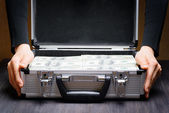 Storage and protection of cash and valuable items — Stock Photo