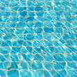Waves on a surface of water in pool  — Stock Photo