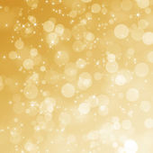 Abstract gold Christmas background  — Stock Photo
