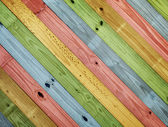 Colorful painting wood background — Stock Photo