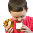 Stock Photo: Boygift