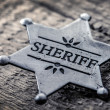 Stock Photo: Sheriff