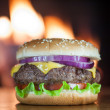 Cheeseburger — Stock Photo #30105529
