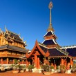 Temple of buddhism - Stock Photo