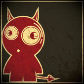 Monster child — Stock Vector