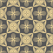 Decorative elements - seamless pattern — Stock vektor