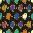 Monsters - seamless pattern — Imagen vectorial