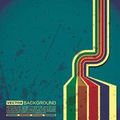 Retro grunge background — Stock Vector