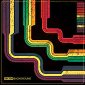 Retro grunge background — Stockvektor