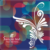 Retro Floral seamless Background. pattern — Stock Vector