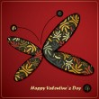 Valentines day card — Stockvectorbeeld
