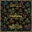 Invitation with butterfly — Stock Vector