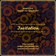 Floral invitation — Stock Vector #18137725