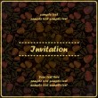 Floral invitation — Stock Vector #18137745