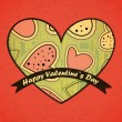 Valentines day card — Stock Vector #18889061