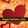 Royalty-Free Stock Vektorfiler: Valentines day card