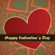 Valentines day card — Stock Vector #18889243