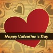 Valentines day card — Stock Vector #18889527