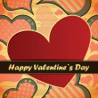 Valentines day card — Stock Vector #18889647