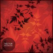 Bladeren - naadloze patroon — Stockvector