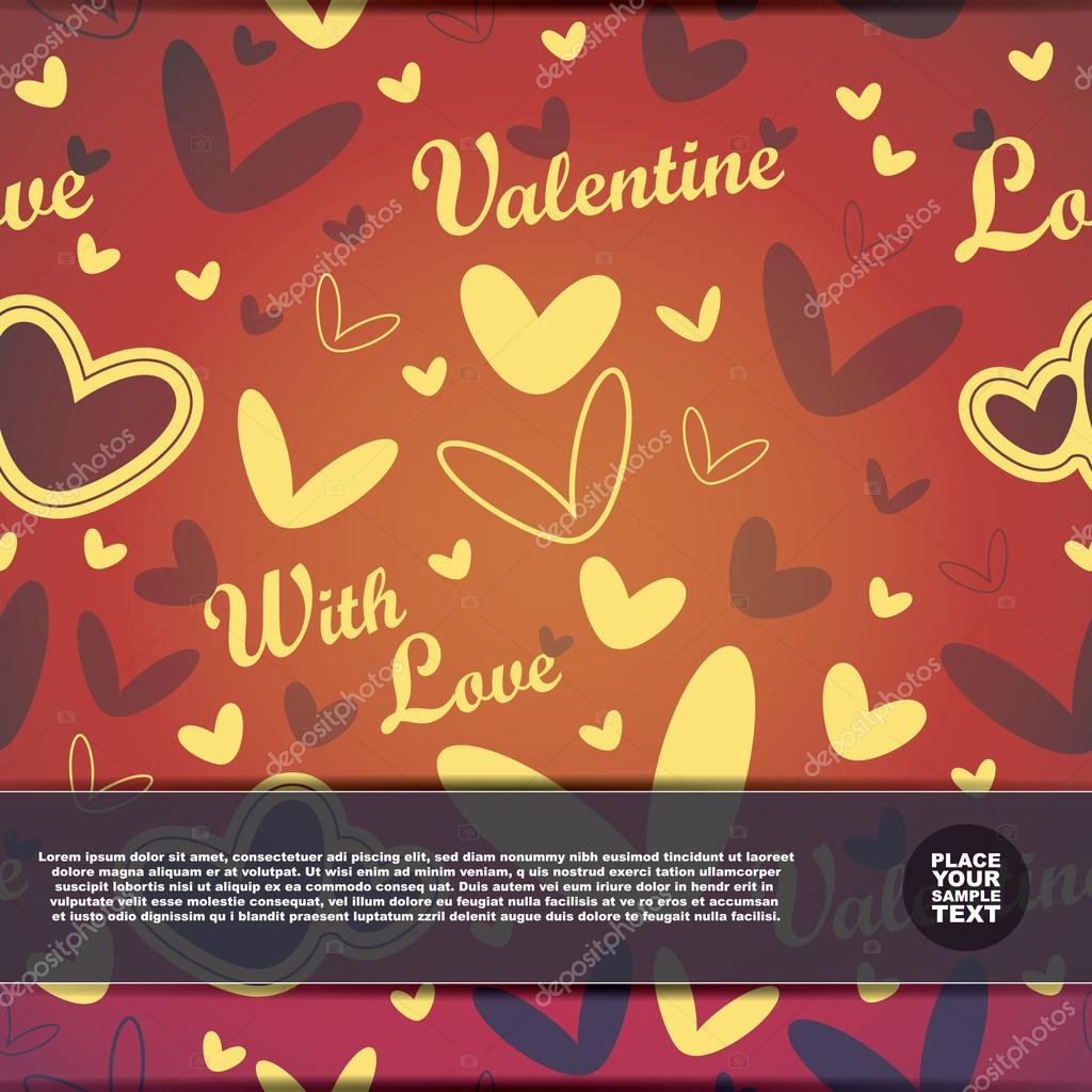 Valentines Day card — Stock Vector #19233595