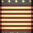 Independence Day- 4 of July - grunge background — Vettoriali Stock