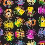 Monster seamless pattern — Stock Vector #23410918