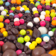 Colorful and chocolate candies — Lizenzfreies Foto
