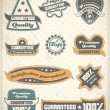 Collection of Premium and High Quality labels — Stock Vector #25463849
