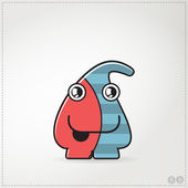 Colorful monster — Stock Vector