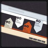 Infographics options banner — Stock Vector