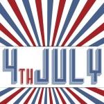 Ημέρα ανεξαρτησίας της Αμερικής — Διανυσματικό Αρχείο