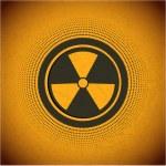 Radioactive. Vector sign — Stock Vector