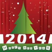Happy New Year — Vettoriale Stock