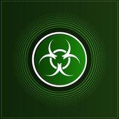 Biohazard. Vector symbol — Stock Vector