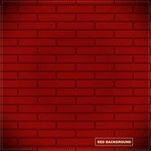 Röd bakgrund — Stockvektor