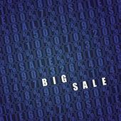 Big sale background. vector — Stock Vector