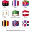 Set of nine flags — Stock Vector #30157249