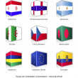Set of nine flags — Stock Vector #30157251